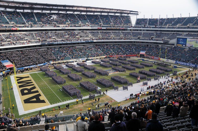 Army Navy Game field