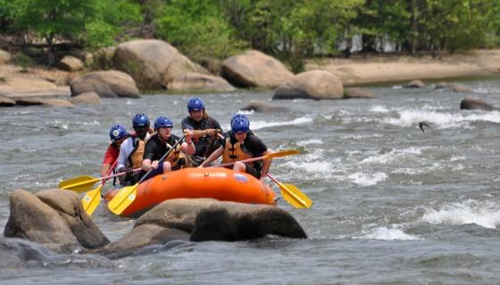 Polytrauma Richmond Rafting 2