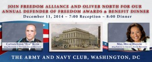 2014 Freedom Alliance Defender of Freedom and Awards Dinner - Home Page Slide
