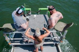Bowfishing Stingrays 1