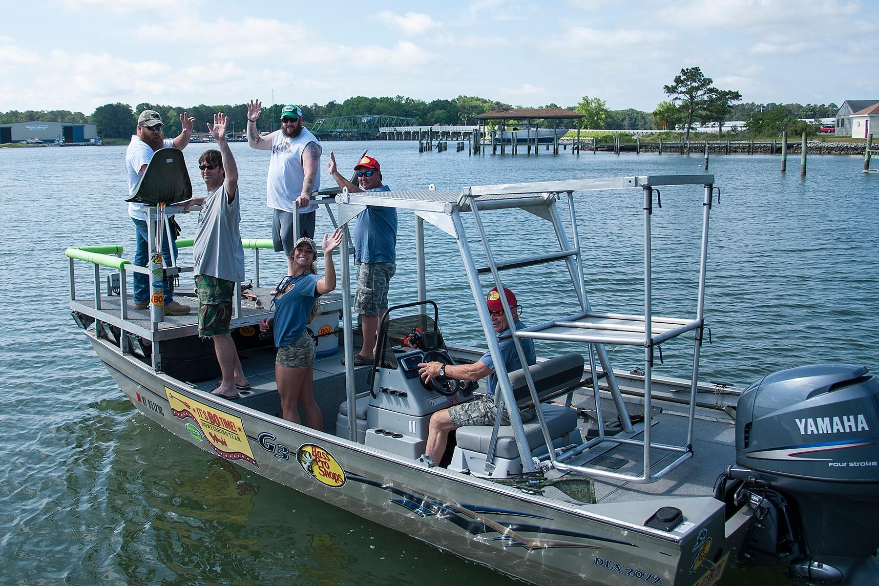 Bowfishing Stingrays 6