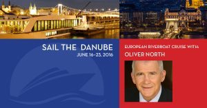 Cruise the Danube with Oliver North