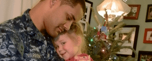 The Warren Family was selected as a Presents for Patriots recipient.