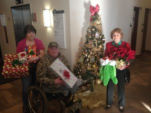 A Presents for Patriots family at Walter Reed Military Medical Center
