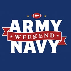 Army-Navy Weekend Logo