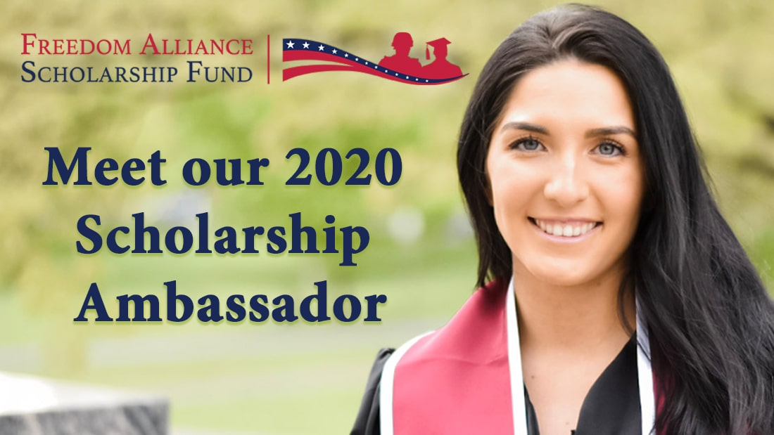SLIDE: Meet our Scholarship Ambassador